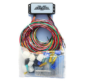 ultima wiring harness complete motorcycle wiring harness for harley or custom