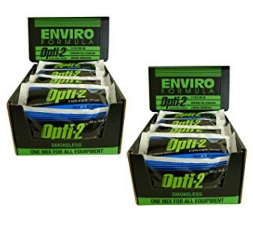 Opti-2 20056 2.5 Gallon Mix Pouches 2-Cycle Engine Lubricant A Box of 56