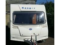4 berth caravan 2006 Bailey Ranger Preloved and Pristine - must see and open to offers