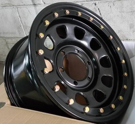 16x8 Zero Offset Fake Beadlock Steelies 140 00 Each