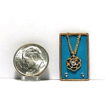 Dollhouse Miniature Overstock Sale Ladies Necklaces Two in a set  1:12 Jewelry