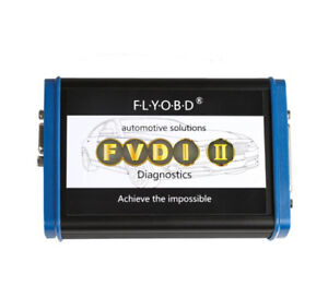 699.00USD -  FVDI2 ABRITES Commander with 18 Softwares