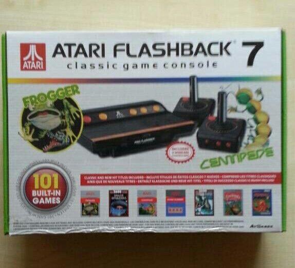 Atari Flashback 7 Console UK plug