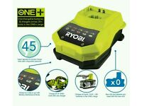 Ryobi BCL14181H ONE+ Fast Super Charger for All ONE+ Batteries 14-18V Batteries