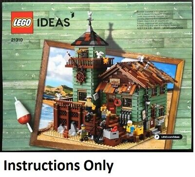 NEW INSTRUCTIONS ONLY LEGO OLD FISHING STORE 21310 Ideas manual book from set