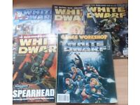 White Dwarf Magazine Vintage Bundle of 5