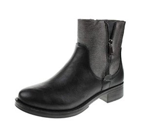 Brand New Women's Faux Leather Ankle Boots - Size 9