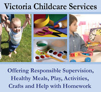 Childcare in Oak Bay and Fairfield