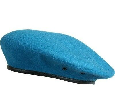 Original Russian Army VDV Airborne Blue Formed Classical Beret, SPLAV, Brand New Airborne Beret