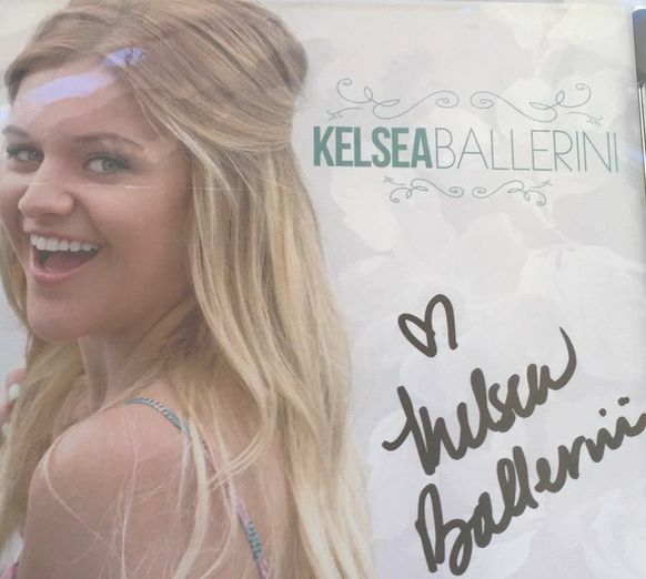 KELSEA BALLERINI Love Me LIke You Mean It EP SIGNED CD RARE FULL NAME SIGNATURE