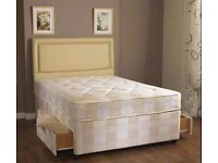 MEMORY FOAM BED~ BRAND NEW &PREMIUM& DOUBLE DIVAN Bed WITH MEMORY FOAM ORTHO Mattress- Single/Double
