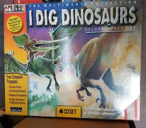 I Dig Dinosaurs Retro PC Game