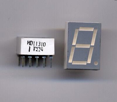 Orange LED Numeric 7 Segment Display - 4 pcs for $2