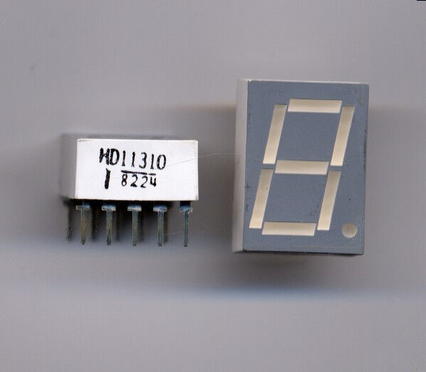 LED Orange Numeric 7 Segment Display - 4 pcs for $2