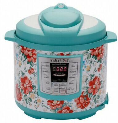 Pioneer Woman Instant Pot 6qt 6 Quart Programmable Pressure