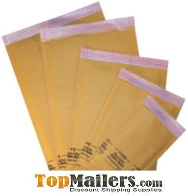 100 000 - 4 X 8 Kraft Bubble Mailers  Envelopes