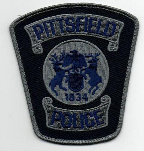 MICHIGAN MI PITTSFIELD POLICE NICE PATCH SHERIFF