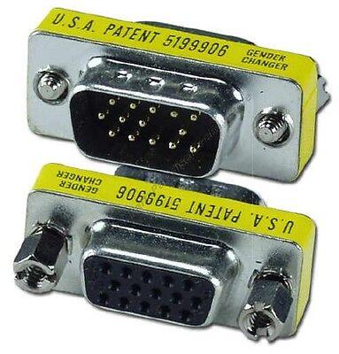 Lot100 Svga/vga Hpdb15/hd15 Pin Malefemale Port Saver/gen...