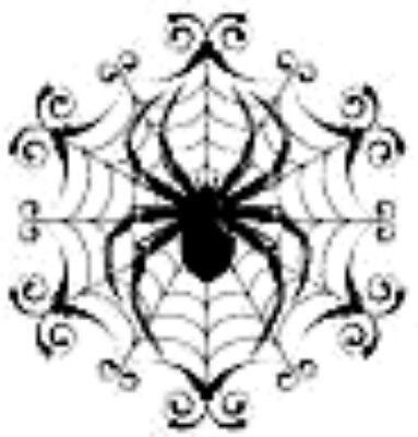 20 water slide nail art Halloween  black spider web with spider 3/8  Trending](Halloween Nail Art Spider Web)