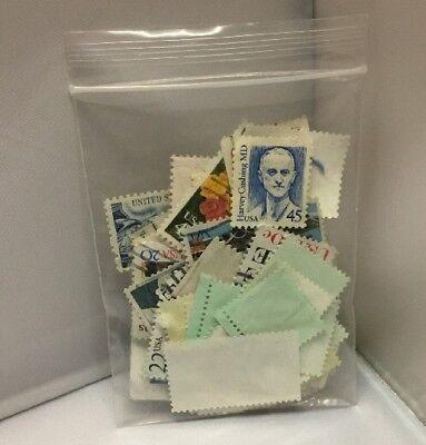 Old (Some Vintage) USA Stamps - 87 Stamps