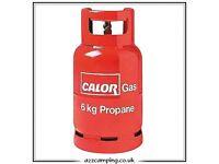 FULL CALOR 6KG PROPANE GAS BOTTLE.