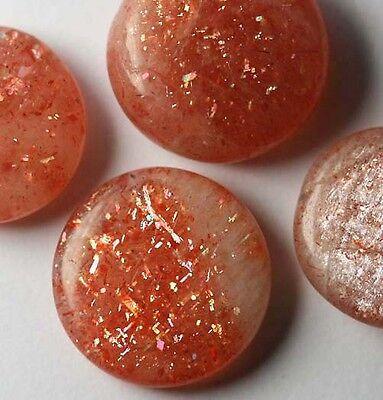 1Sunstone Cabochon Oligoklas Sonnenstein 13mm 8,0Ct.