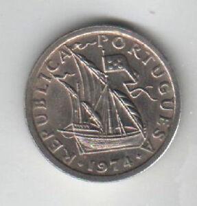 PORTOGALLO-2-50-ESCUDOS-1974-FDC-KM-590-mrm