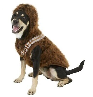 Chewbacca Dog Costume NEW Large Star Wars Chewy - Chewbacca Kostüm Hund