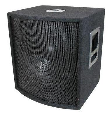 "NEW 18"" SubWoofer Speaker.Pro Audio.BASS Woofer.Live Sound woofer w/ box.DJ.PA."