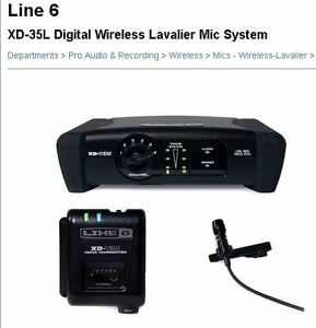 Wireless Lavalier Microphone System Line 6