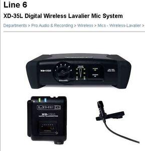 Wireless Lavalier Microphone System Line 6