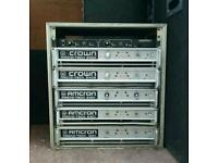 Crown macrotech 2400 power Amps