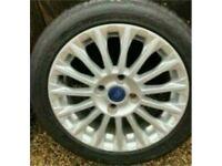 "16"" FORD FIESTA MK 7/8 Titanium 16 Spoke alloy wheel And TYRE Zetec 3mm 1"
