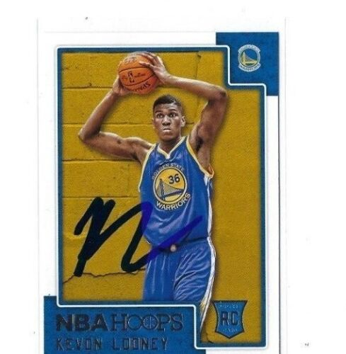 2015-16 HOOPS #270 KEVON LOONEY AUTO AUTOGRAPHED RC CARD SIGNED W/COA WARRIORS