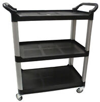 Black Bussing Cart
