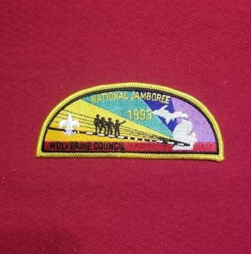 1993 Wolverine Council JSP National Scout Jamboree