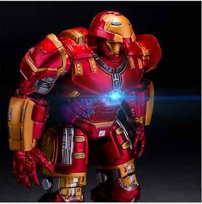 """7"""" Action Figure Marvel Avengers 2 Age of Ultron IRON MAN HULK BUSTER Toy Gift"""