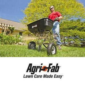 NEW* AGRI-FAB BROADCAST SPREADER - 108992882 - 100-POUND PUSH SPREADER