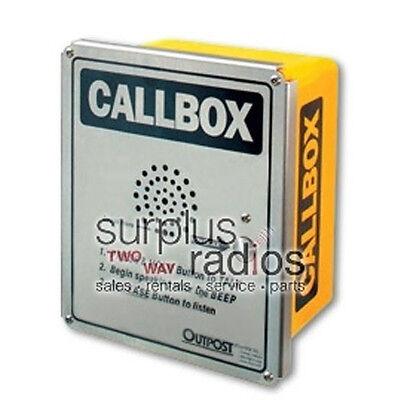 Uhf Ritron Heavy Duty Wireless Two Way Radio Callbox Works With Motorola Cp200