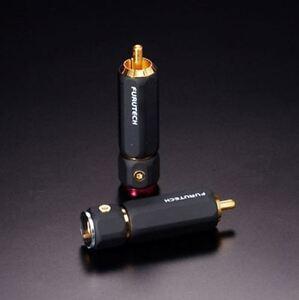 Genuine Furutech RCA FP-110 (G) Gold Plated a-OCC copper Connector plug *2PC