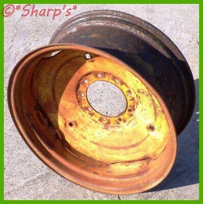 Jd3007 Jd3007t John Deere 40 420 430 440 Rear Rim Wheel Ships Free Genuine
