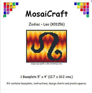 MosaiCraft-Pixel-Artigianato-Mosaico-Arte-Zodiacale-Kit-039-Leo-039-Pixelhobby
