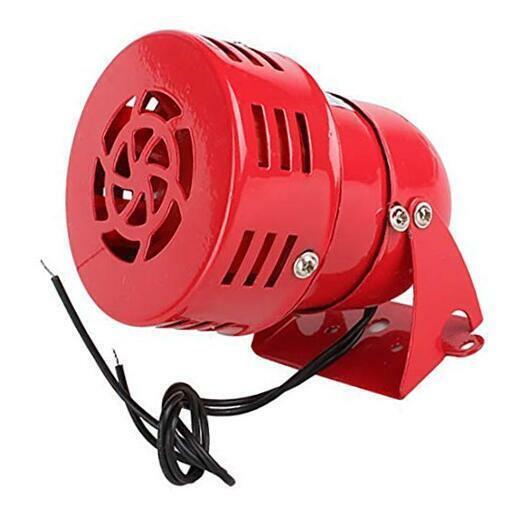 AC 114dB Industrial Motor Alarm Bell Horn Sound Buzzer Siren 110V