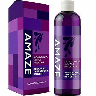Daily Shampoo for Oily Hair and Oily Scalp Volumizing Itchy Hair