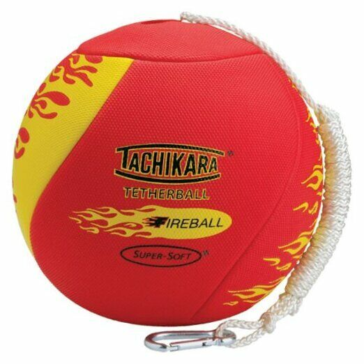 Fireball Super-Soft Tetherball with Diamond Textured Cover