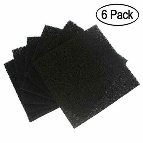 6 Pack Solder Extractor Filter Carbon Filter Replacement Activated, Smoke Fume A