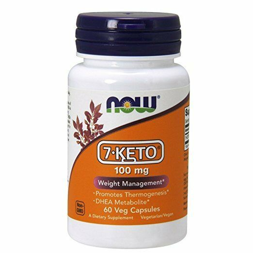 7-Keto® DHEA Metabolite 100 mg 60 Veg Capsules - NOW Foods