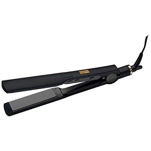Hot Tools  Professional Black Gold Digital Flat Iron, 1 ¼ I