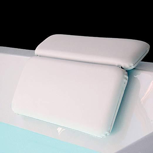 GORILLA GRIP Original Spa Bath Pillow Features Powerful Grip