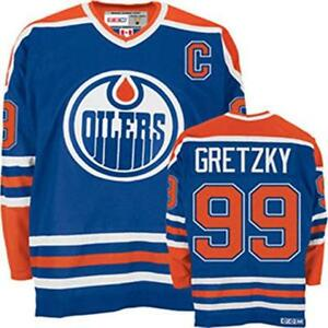 Authentic, Brand New Wayne Gretzky Oilers Jersey